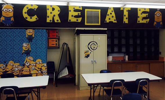 "Our new ""Johnson Design Studio"" STEM Lab is ready!"