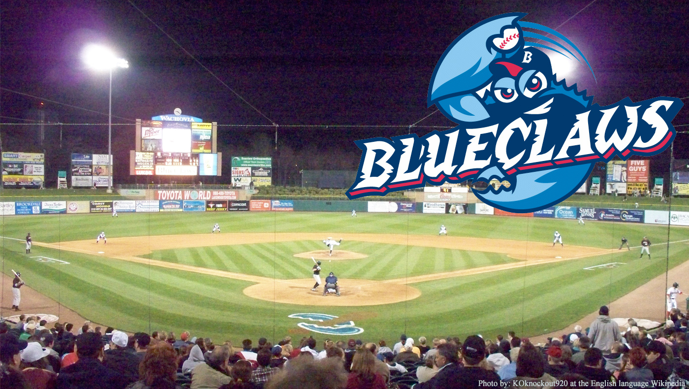 Blue Claws Night is Friday, May 26!