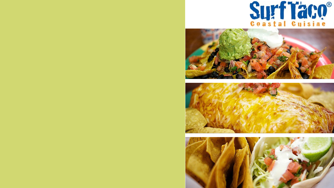 Surf Taco Dine Out Tuesday, November 19