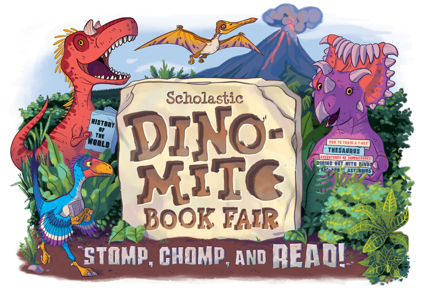 BOGO BOOK FAIR APRIL 9-11