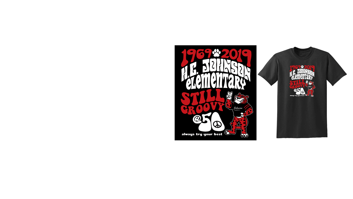 HC Johnson 50th Anniversary T-Shirt and Save the Date!